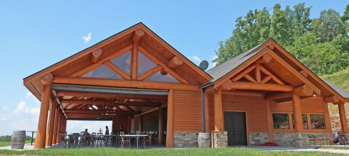 Point Lookout Vineyards Pavilion